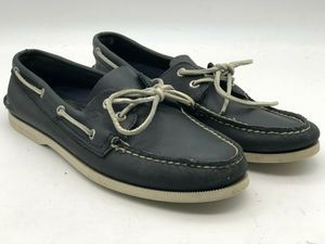 Sperry Top Sider Men's Sz 10.5 Navy Blue Loafers
